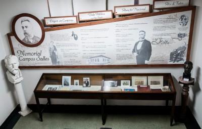 Museu Campos Salles conserva documentos e objetos importantes ligados ao ex-presidente da República (Foto Martinho Caires)