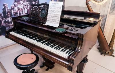 Museu Carlos Gomes, um dos importantes componentes do acervo do CCLA: pela música brasileira de qualidade (Foto Martinho Caires)