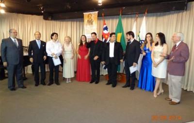 Vencedores do VII Concurso para Jovens Cantores Líricos (Foto Divulgação)