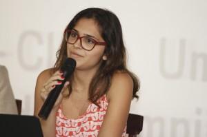 A pesquisadora Natasha Hernandez Almeida falou sobre sua tese de mestrado