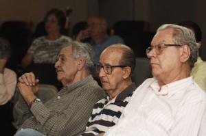 Na plateia, nomes como José Alexandre dos Santos Ribeiro, Henrique de Oliveira Júnior e Duílio Battistoni Filho