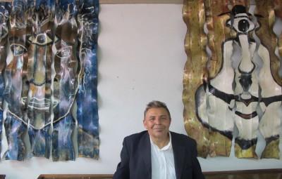 Maneco de Gusmão e seus Rostos Contemporâneos na Galeria de Arte do CCLA (Fotos José Pedro Martins)