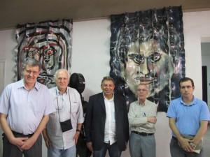 Abertura da exposição, dia 10 de junho de 2015, no CCLA