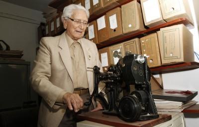 Marino Ziggiatti: 65 anos de introdução do cinema de arte em Campinas (Foto Adriano Rosa)