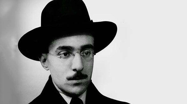 O poeta Fernando Pessoa